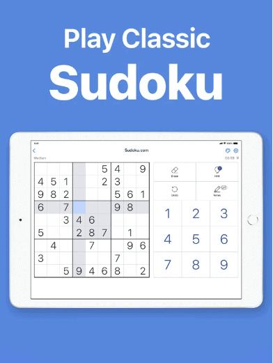Sudoku Play classic