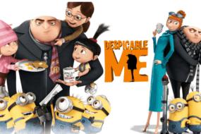"""""""Εγώ, ο Απαισιότατος"""": Μια αφάνταστα διασκεδαστική ταινία για όλη την οικογένεια με πολύ γέλιο από την Universal Pictures. Πρόκειται για την πρώτη από τις 4 ταινίες της σειράς """"Εγώ, ο Απαισιότατος"""". Ο πανούργος Γκρου και τα γλυκά και αστεία Minions έρχονται για ένα απολαυστικό θέαμα."""
